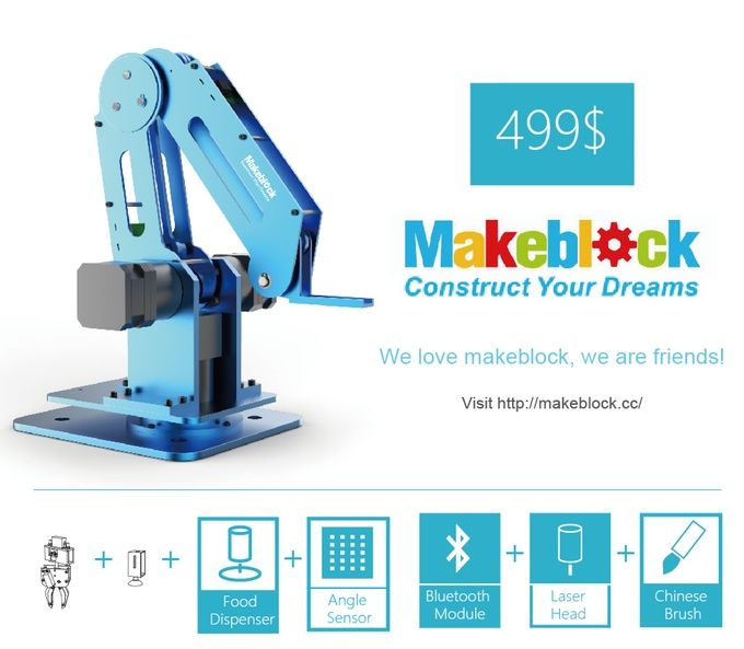 Dobot: Robotic Arm for Everyone, Arduino & Open Source by dobot cc