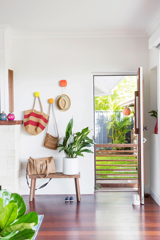 Hallway mirror kmart  DIY Renovation Of A us Brick Bungalow In Perth  Entrée  Hallway