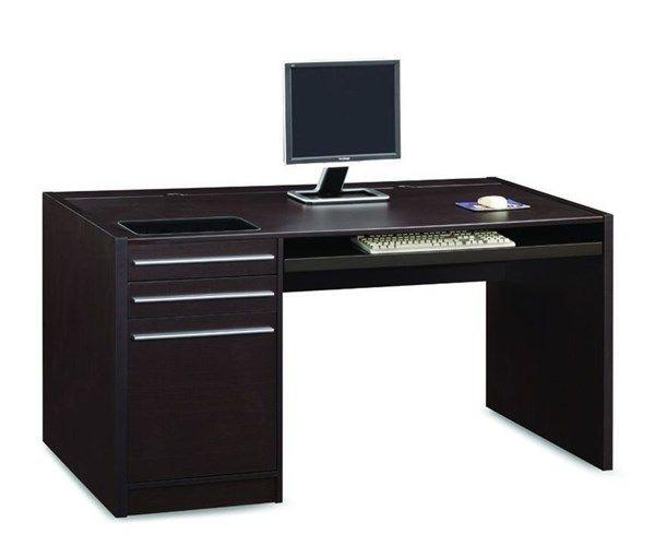 Malm desk black brown in our new house ikea malm desk