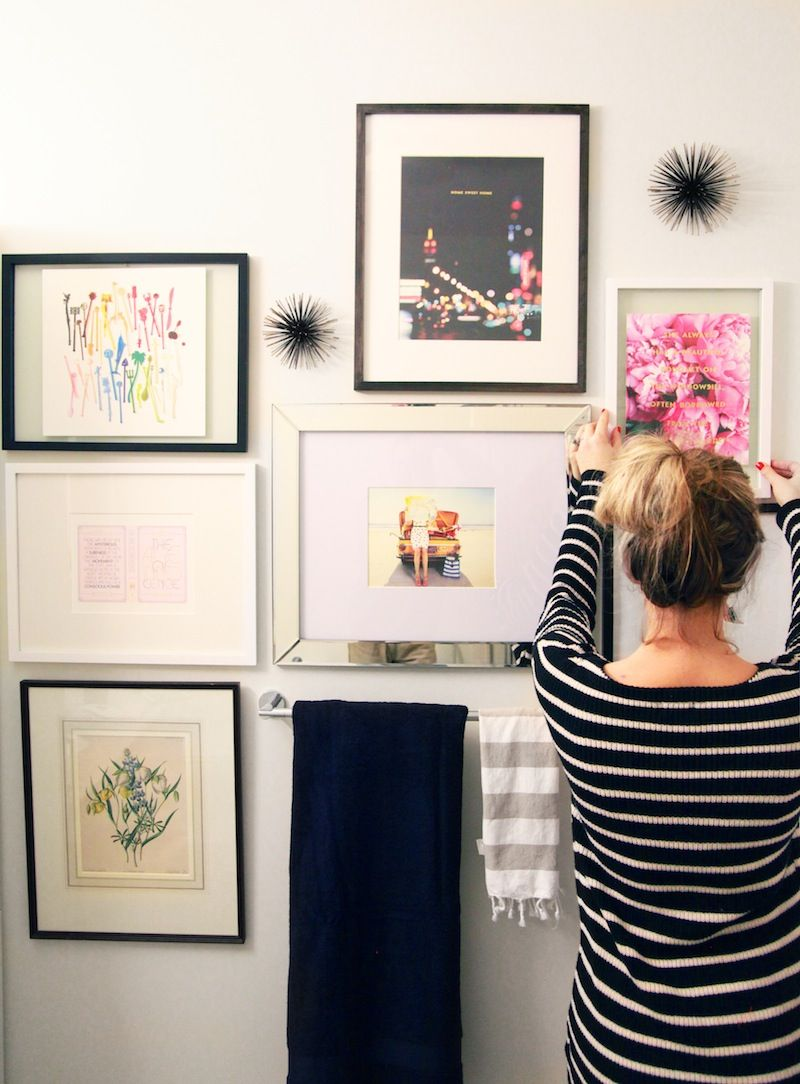 Kate Spade Gallery Wall Decorating Ideas Misc