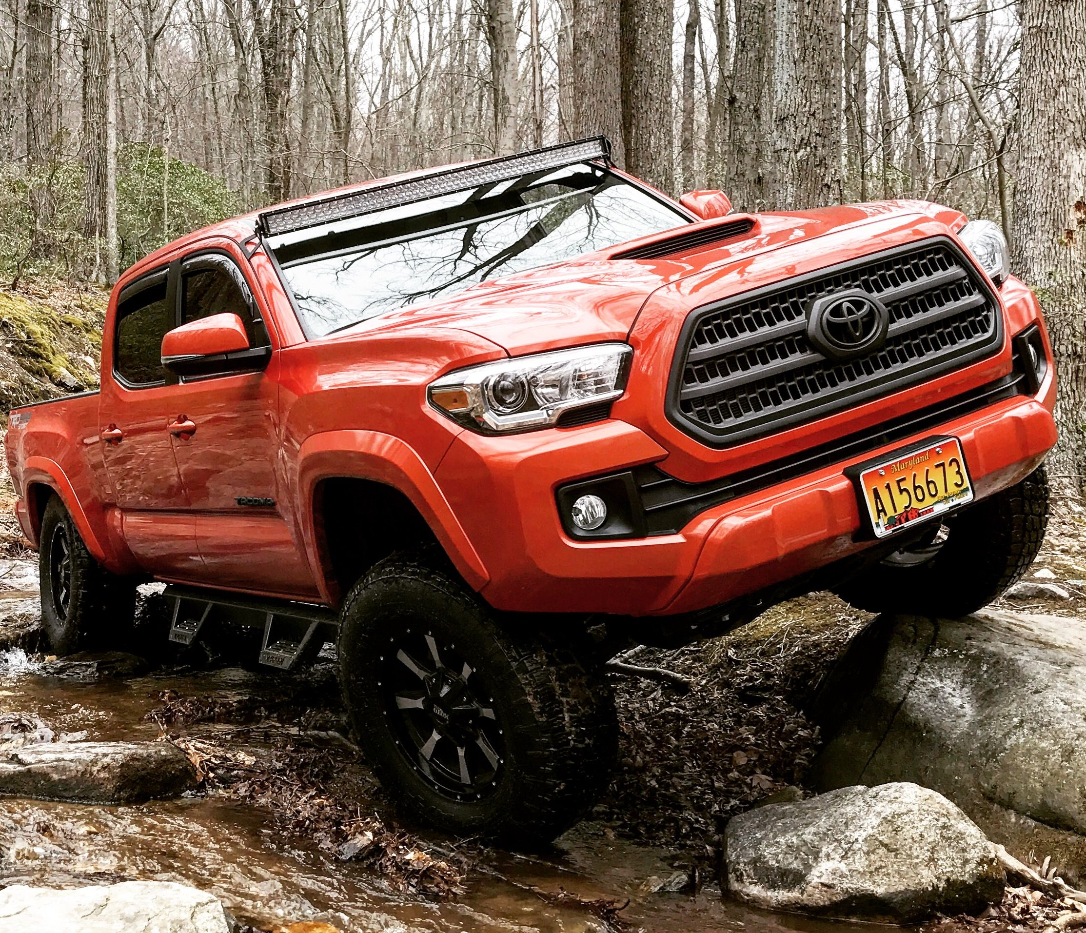 savage dominant sport cab pickup stylish on muscular a trd toyota double tacoma wheels