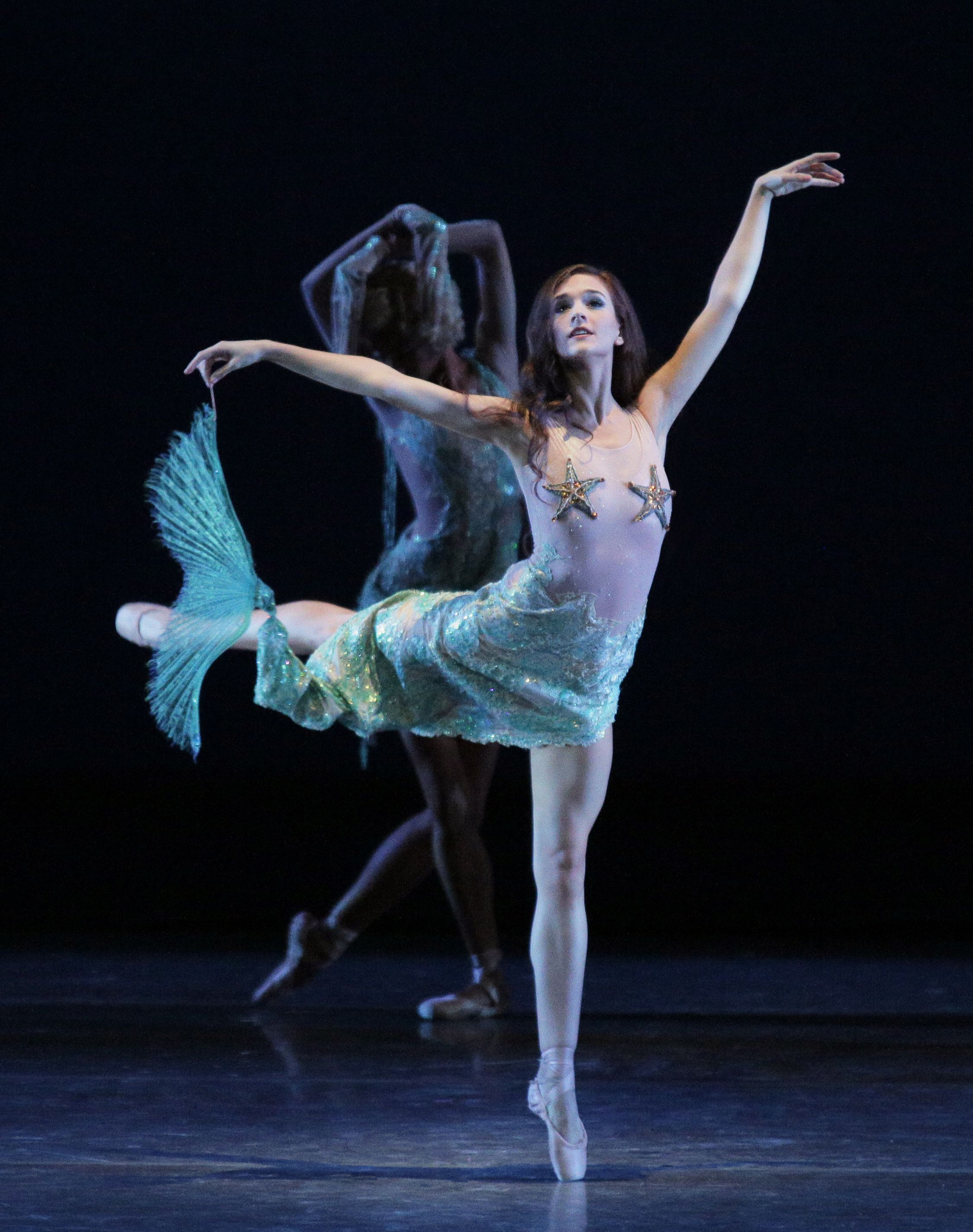 New York City Ballet Just For Fun Program City Ballet Mermaid Dancing Ballet Blog