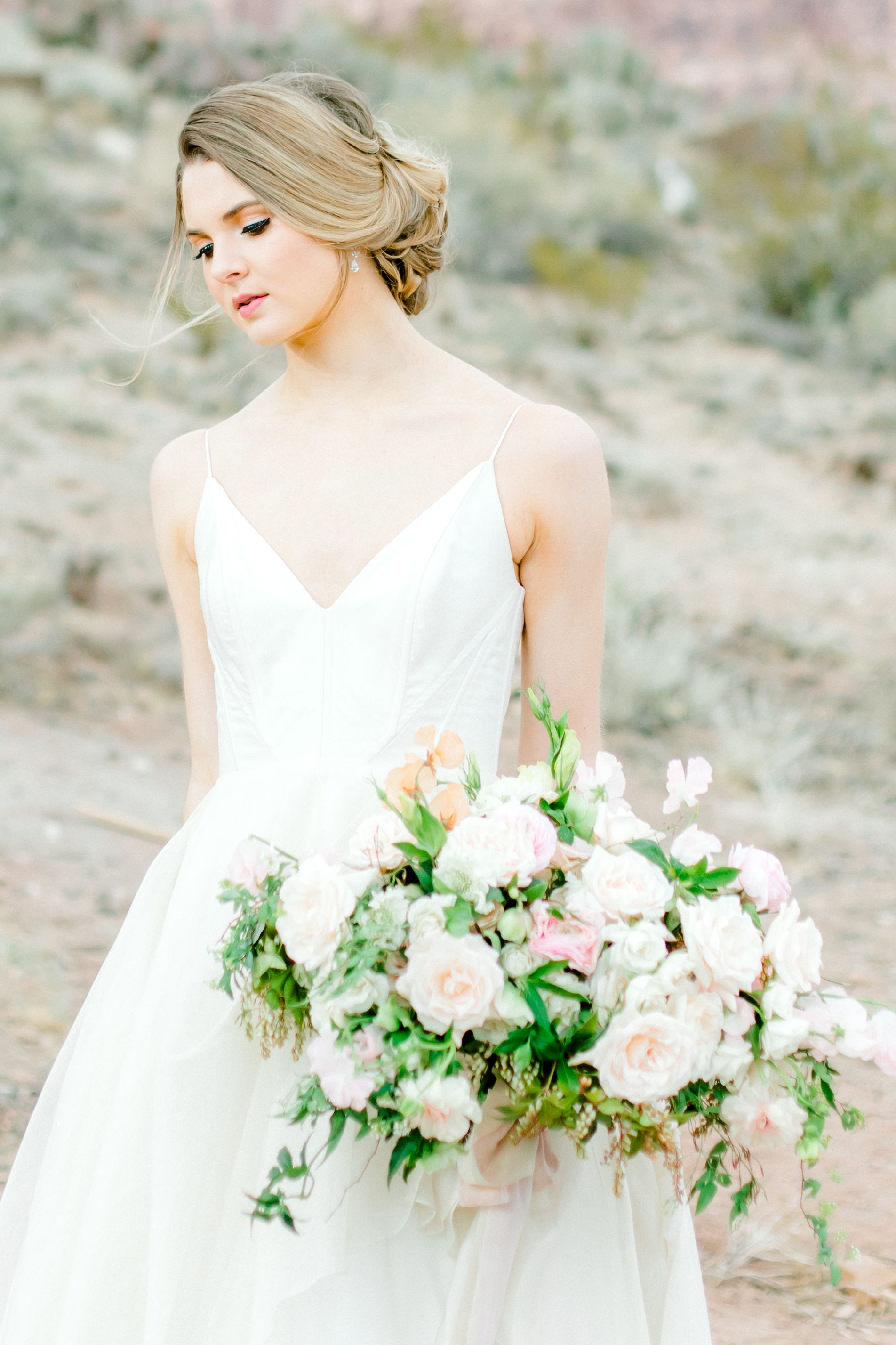 Red Rock Canyon Las Vegas Desert Elopement Tiffany ...