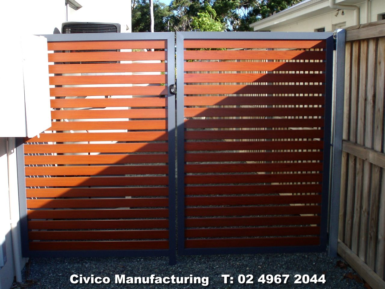 horizontal slat gate Google Search (With images