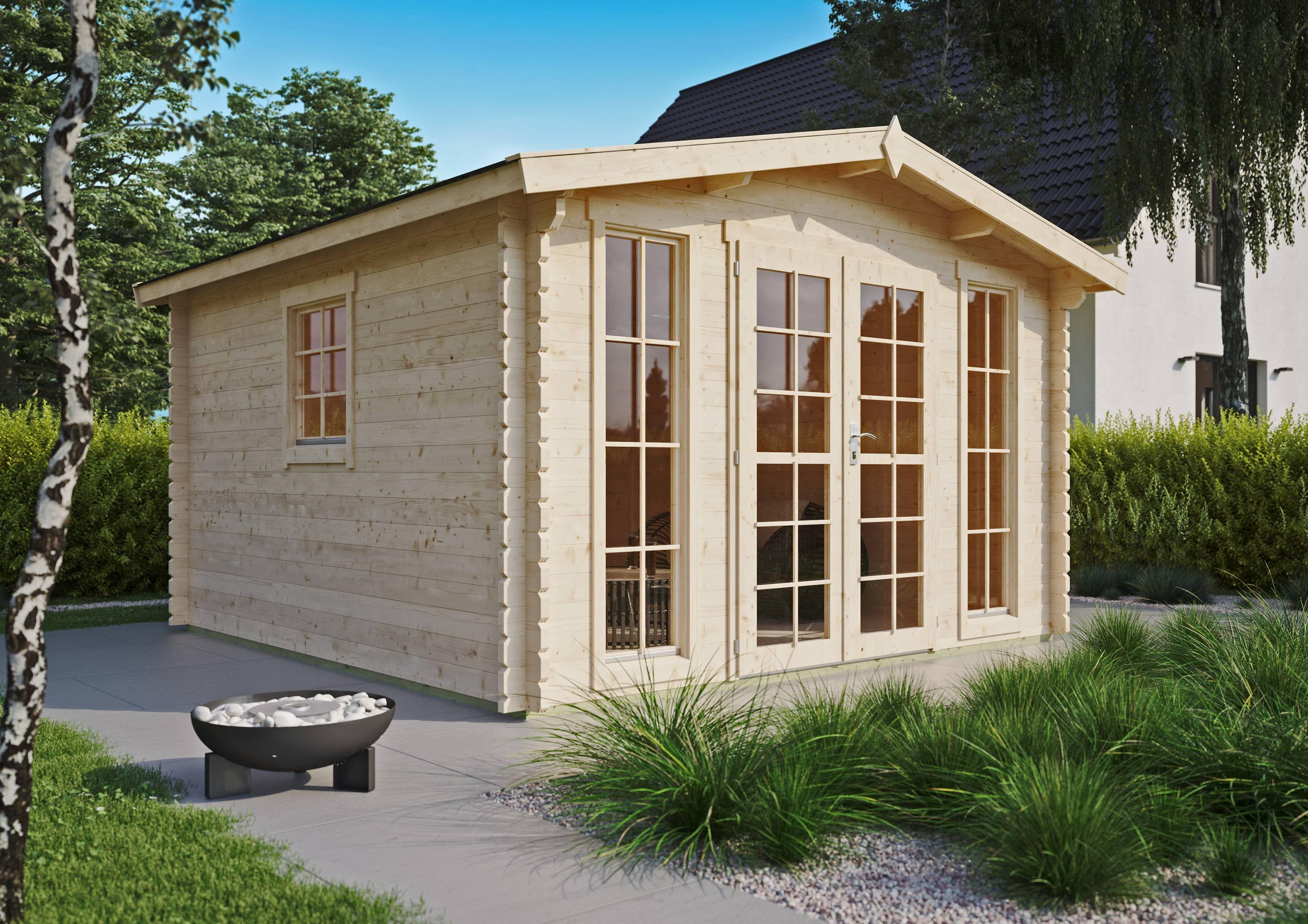 Modernes Gartenhaus Enrico 40 A Haus Gartenhaus Gartenhaus Mit Sauna