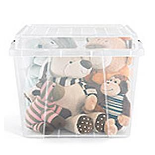 The Container Store Square Storage Box Holiday Stuffed Animals Books Seasonal Clothes Craft Storage Organization Stuffed Animal Storage Container Store