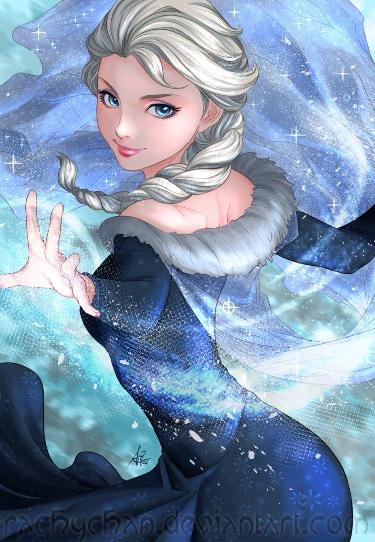 Frozen by AngelofDeathz on DeviantArt