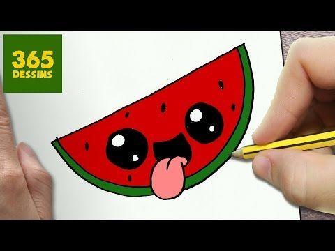 Comment dessiner kinder kawaii tape par tape dessins kawaii facile youtube a reproduire - Comment faire murir un melon ...