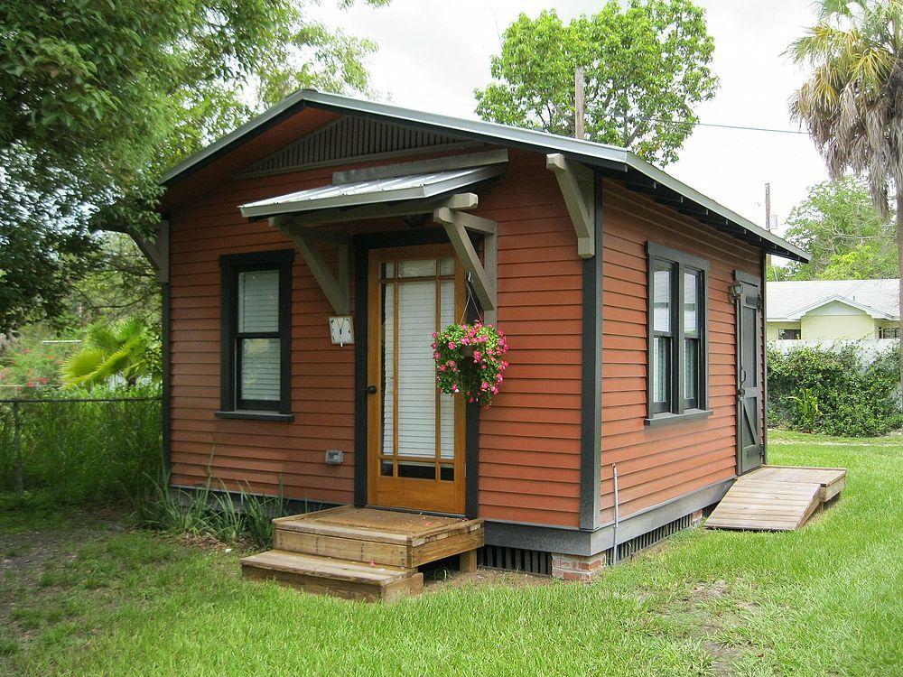 Backyard Cottage Prefab Design House Plan Affordable: Custom Guest Cottage En 2019