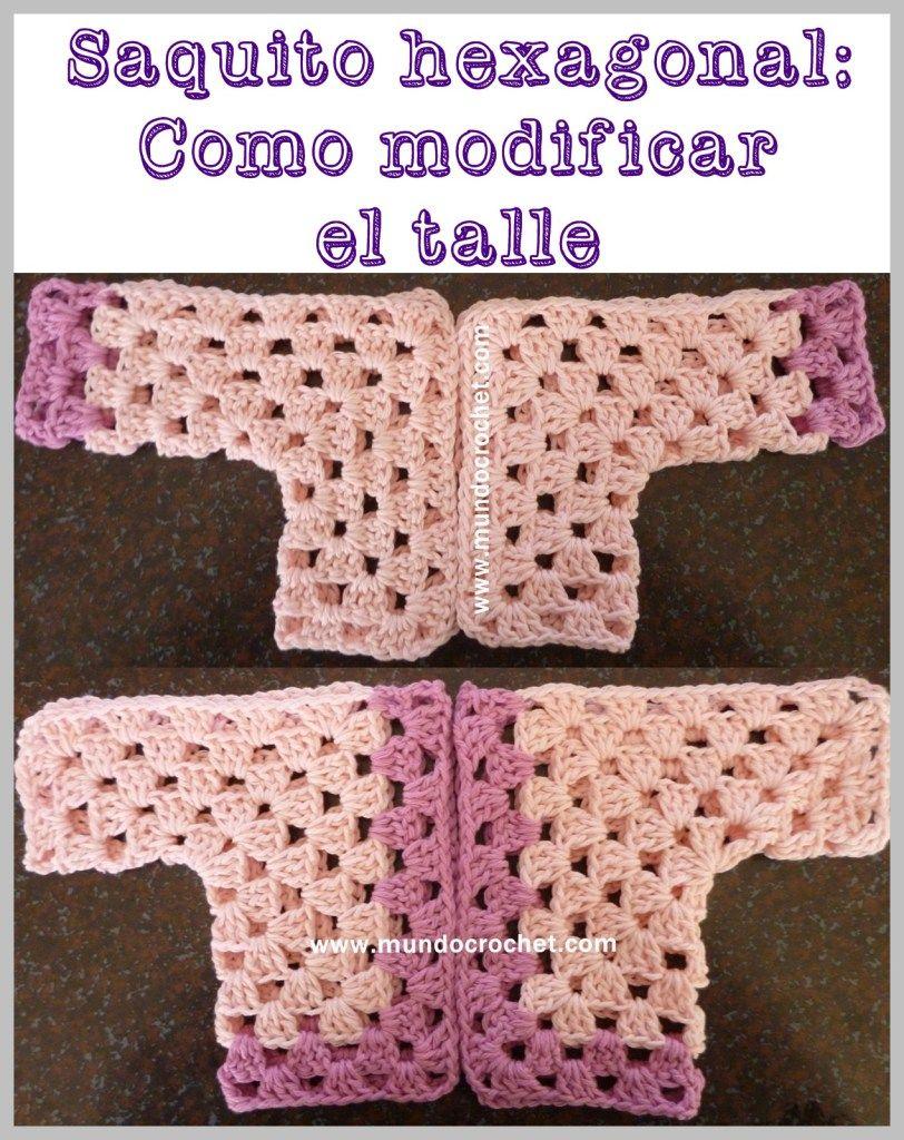 Dorable Patrón De Crochet Manta Libre Hexágono Bebé Inspiración ...
