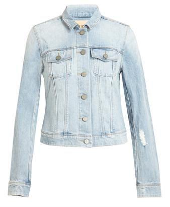 PAIGE DENIM - Distressed Denim Jacket