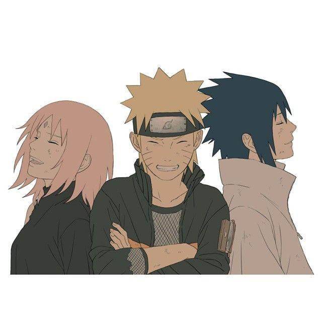 Team <3 #anime #manga #naruto #narutoshippuden #sasuke #sasukeuchiha #sakura #team7 #kakashi ...