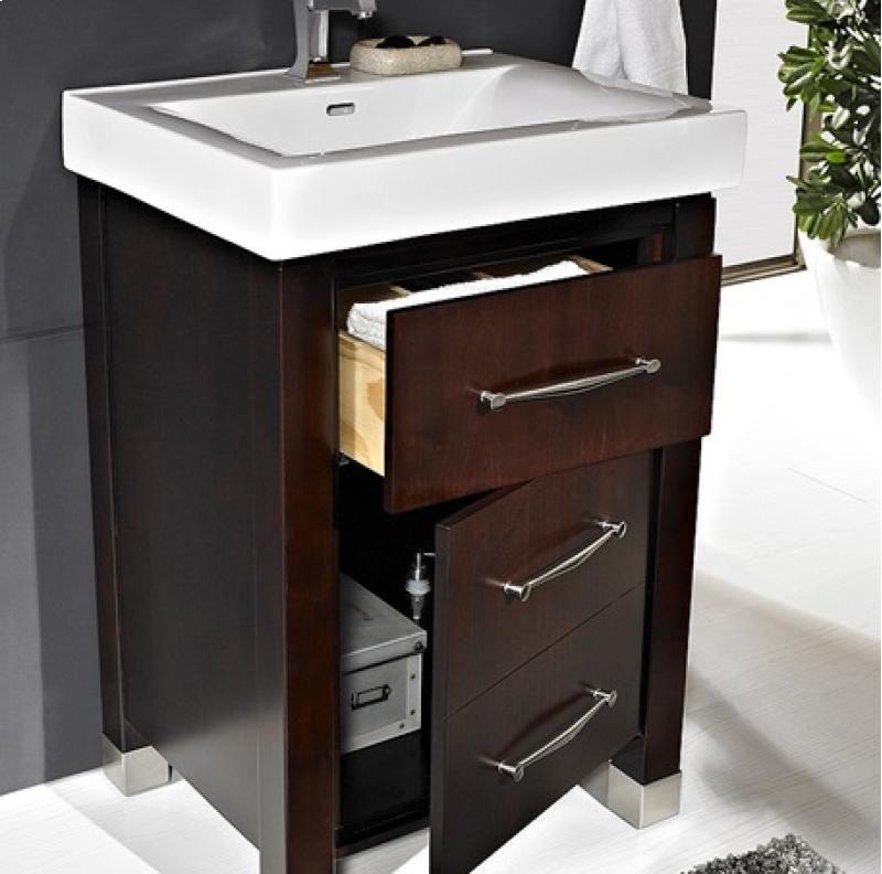 Advantage Kitchen And Bath | Midtown 24 Vanity Espresso 145v2418b By Fairmont Designs In Niles