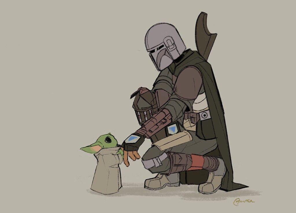 The Mandalorian The Child Aka Baby Yoda Star Wars Star Wars Art Star Wars Fandom Star Wars Memes