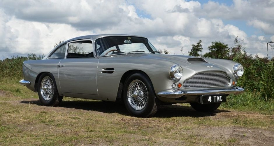 Deeprooted bond the firstever aston martin db4 for sale