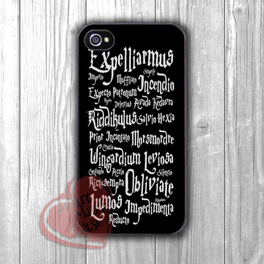 Harry Potter Magic Spells - DiL4 for iPhone 6S case, iPhone 5s case, iPhone 6 case, iPhone 4S, Samsung S6 Edge