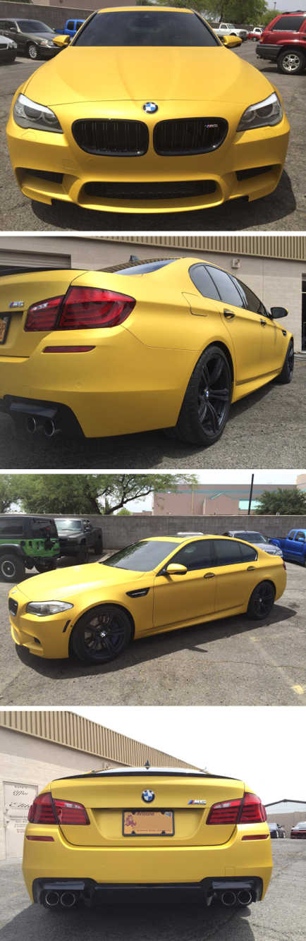 Check out this BMW M5 wrapped by EA Wraps  Material Used