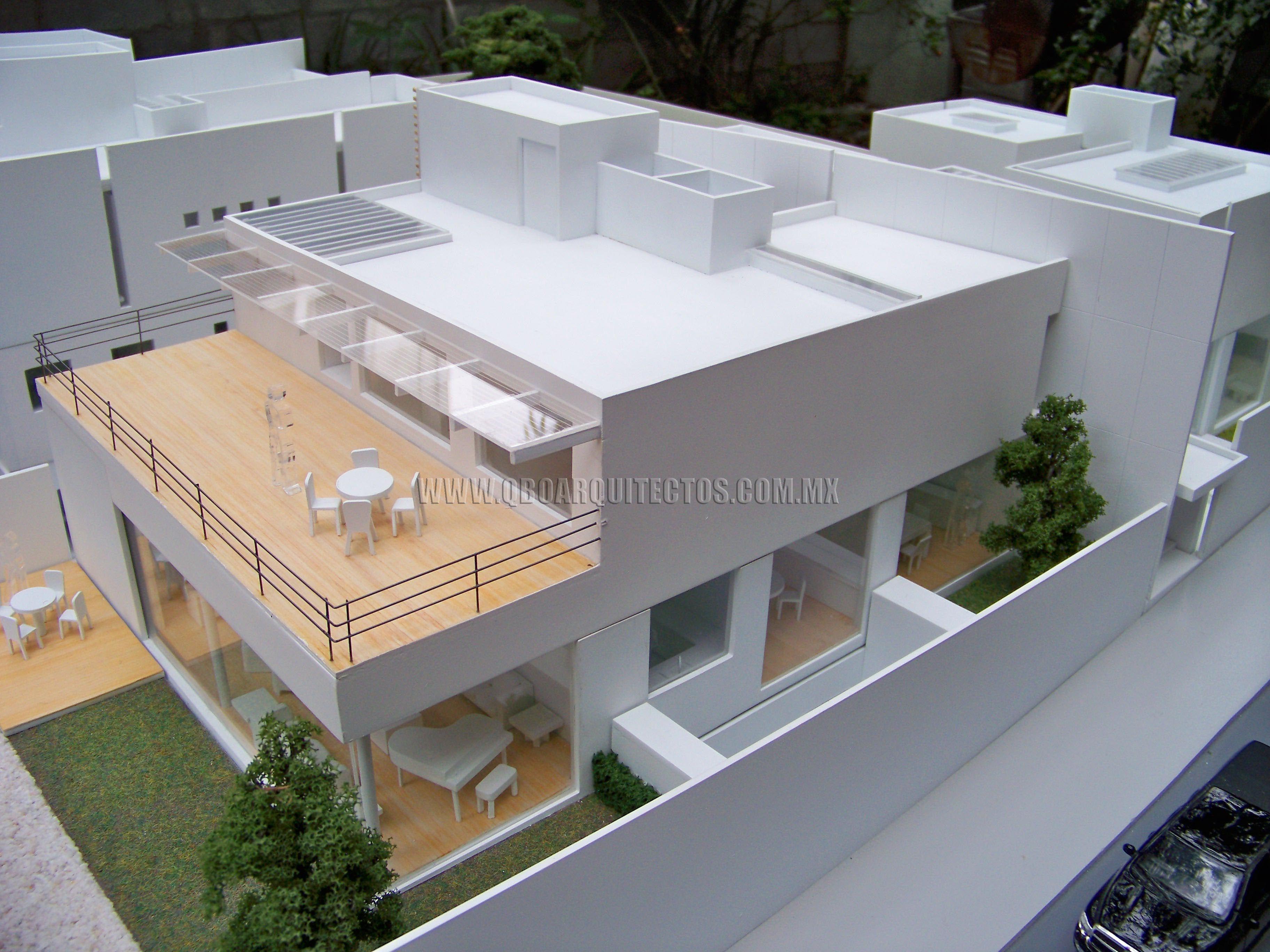 Casa quintero desmontable esc 1 50 maquetas pinterest for Casa moderna maqueta
