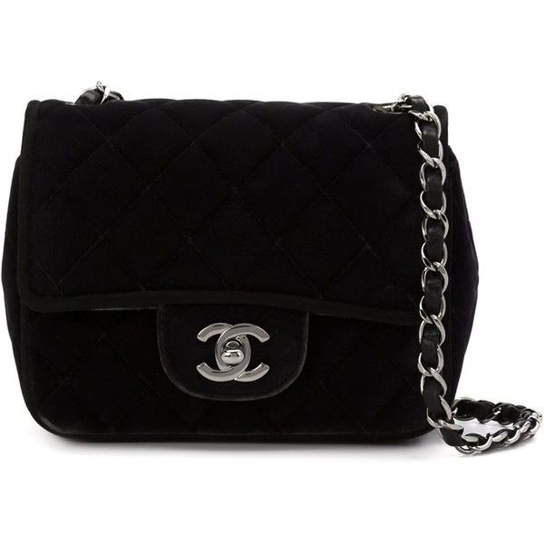 b069cb639 Chanel Vintage mini flap crossbody bag (€3.430) ❤ liked on Polyvore  featuring bags