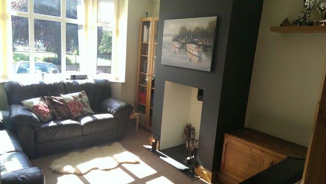 Best Our Fresh Sitting Room Paint Job Dulux Neutrals Apple 400 x 300