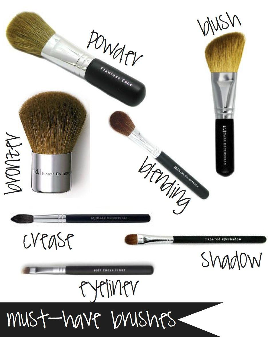 makeup brush must haves Bing Images Makeup brushes
