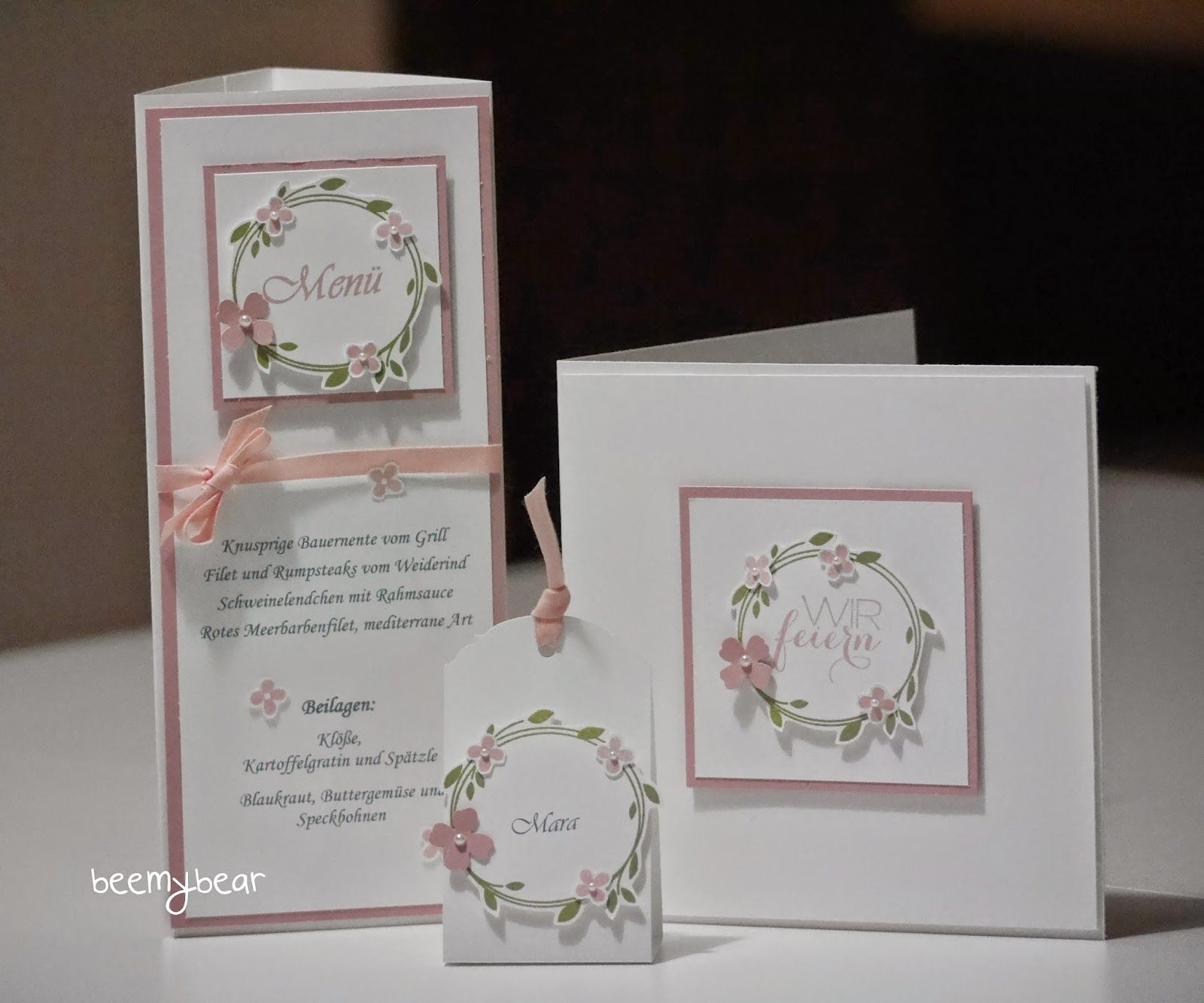 Stampin With Beemybear Wedding Pinterest