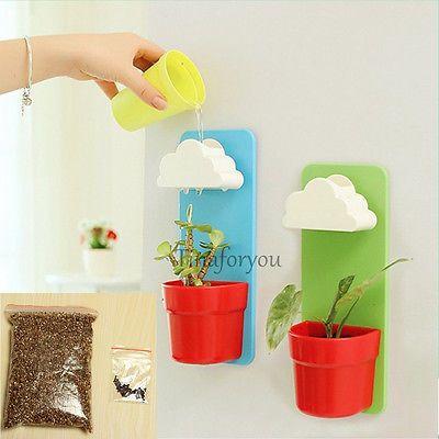 Creative-Cloud-Hanging-Plant-Flower-Pot-Planter-Home-Garden-Balcony-Decoration