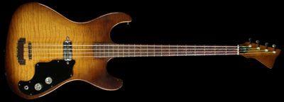 Used 1964 Kay K5930 Electric Bass Guitar Sunburst