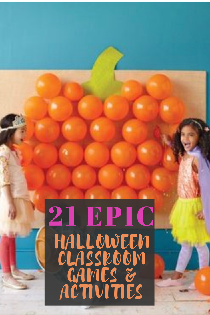 How to Create an Epic Halloween in Your Classroom - Chaylor & Mads