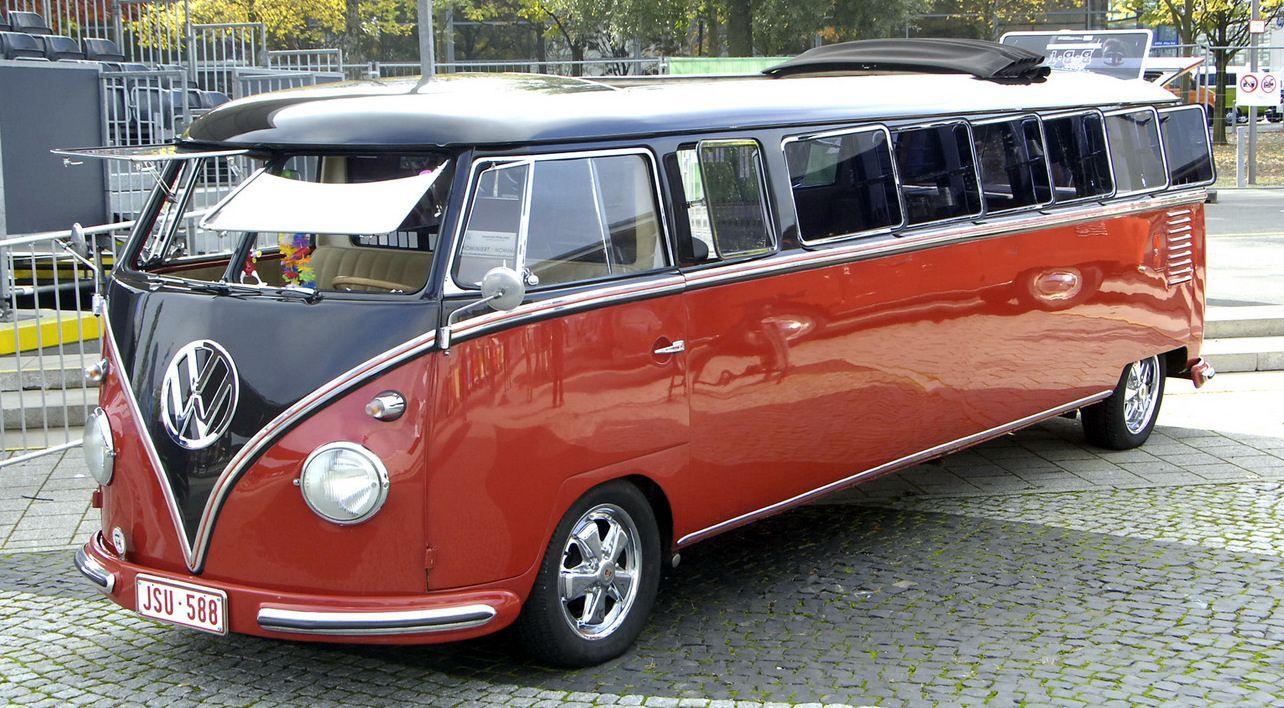 Vw kombi samba limousine vw beetle combi pinterest limo volkswagen and vw bus