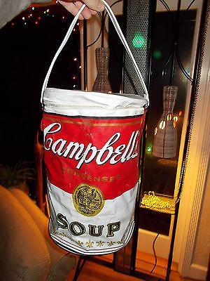 Vintage 1960 S Campbell S Soup Can Purse Bag Tote Pop Art Warhol Super Rare Pop Art Campbell S Soup Cans Campbell Soup