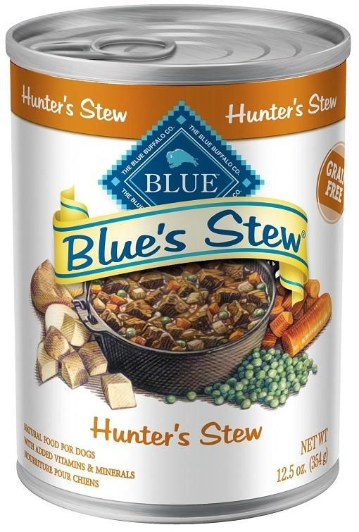 Blue Buffalo Hunter S Stew Canned Dog Food Products Canned Dog