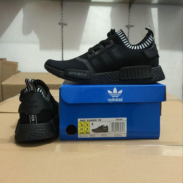 c01f991326829 Discount Adidas Originals NMD Runner R1 Japanese Elite Core Black ...