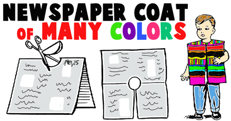 how to make a newspaper vest