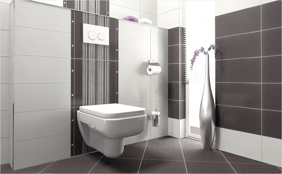 Fliesen sind die Klassiker im Bad! Eine Kombination aus