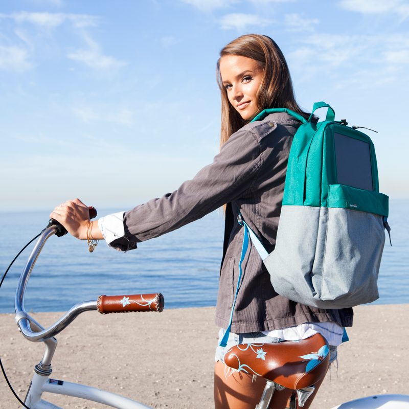 BirkSun  Boost Solar Backpack. Charge your phone with the sun!  364522e57d071