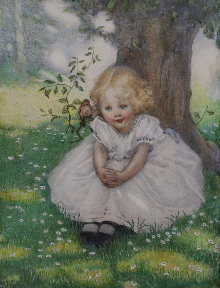 1920's Children's Illustration Painting by Susan Beatrice Pearse (1878-1980) #IllustrationArt