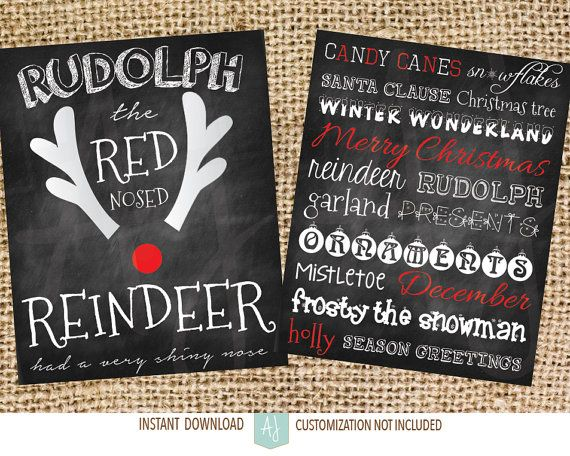 Printable decorations for Christmas. Click through for matching games, cards, invites, and more. Or check our our 1000+ designs for holidays, weddings, birthdays, and more.  Designs for all of life's journeys! Only at Aesthetic Journeys