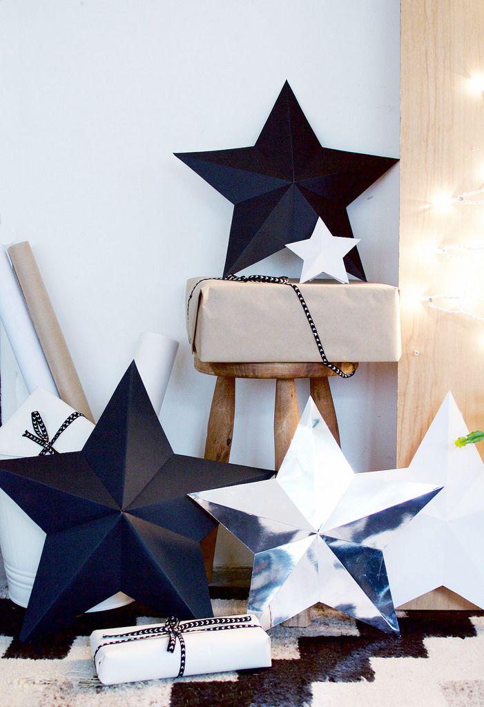 DIY 3D Star Decorations Tutorial DIY 3D