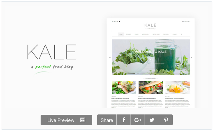 kale pro is the ultimate food blog beautifully crafted and specifically designed to help you