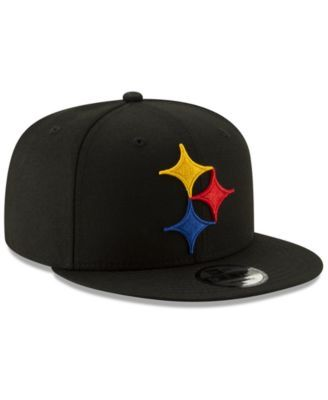 05ca828ca6b932 New Era Pittsburgh Steelers Logo Elements Collection 9FIFTY Snapback Cap -  Black Adjustable
