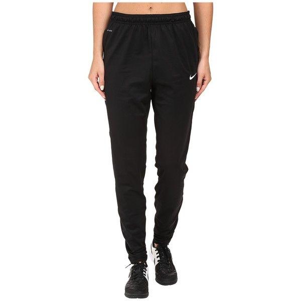 Nike Dry Soccer Pant (Black White White) Women s Casual Pants ( 65 ... bbbcfc251f