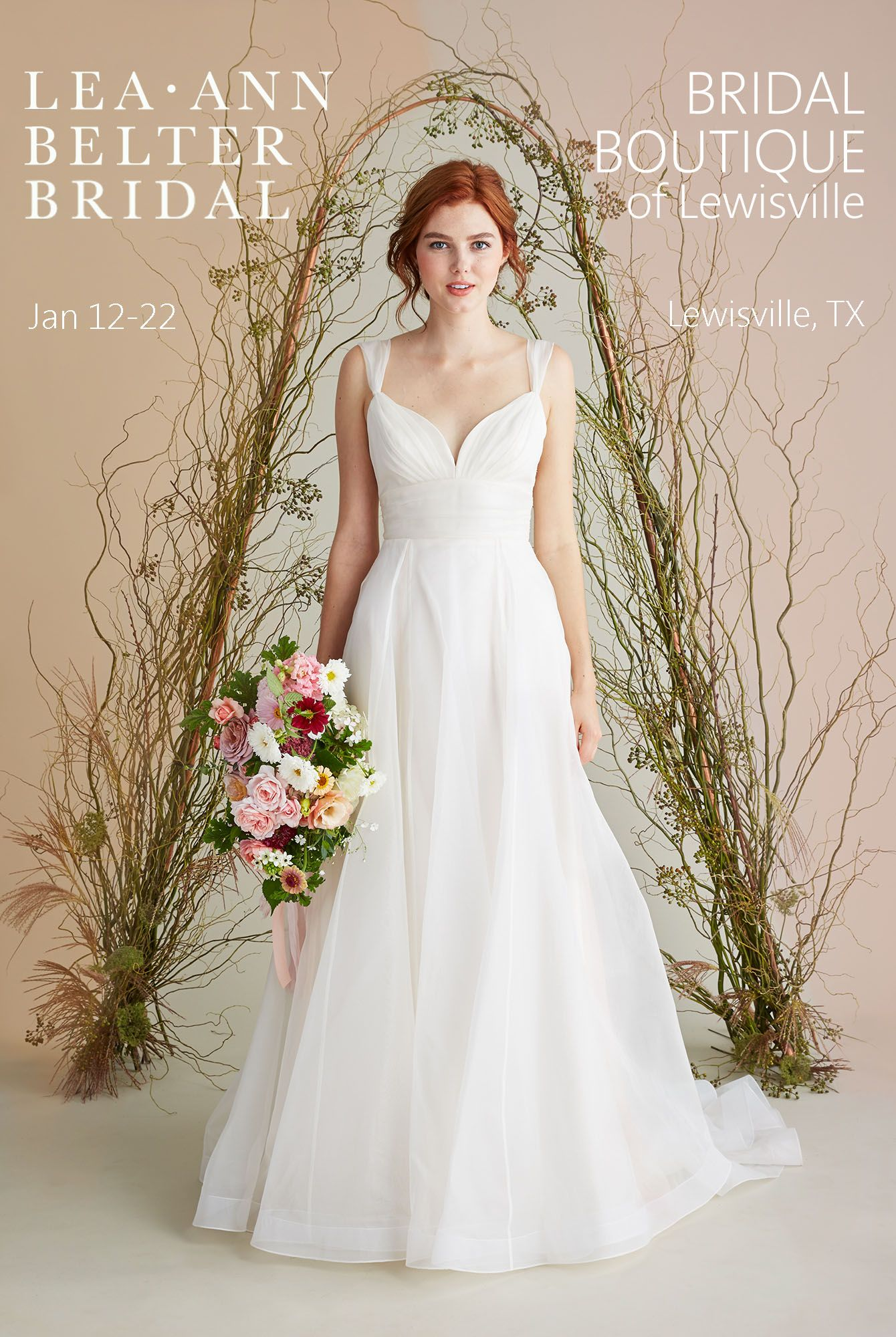 Bridal Gown Trunk Show in Dallas | Lea-Ann Belter Bridal Stockists ...