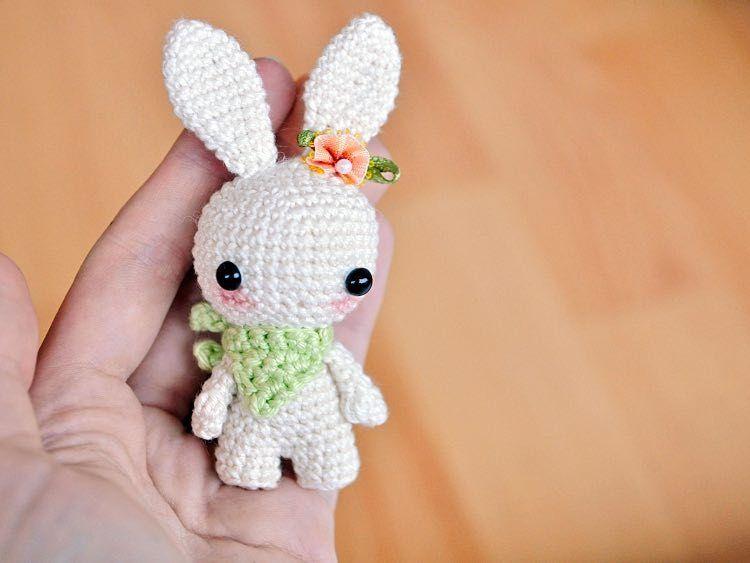 Como hacer un conejo en amigurumi | Pinterest | Conejo, Patrones ...