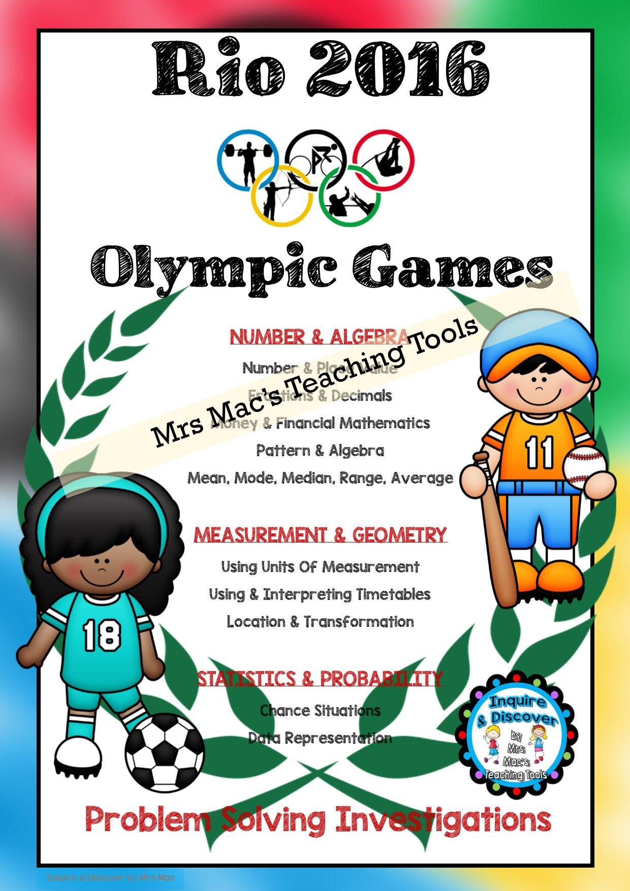 Rio De Janeiro Olympics Problem Solving