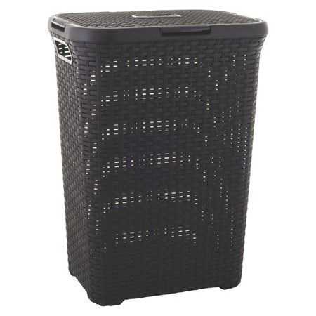 Curver Style 60l Hamper Target With Images Laundry Hamper Collapsible Laundry Basket