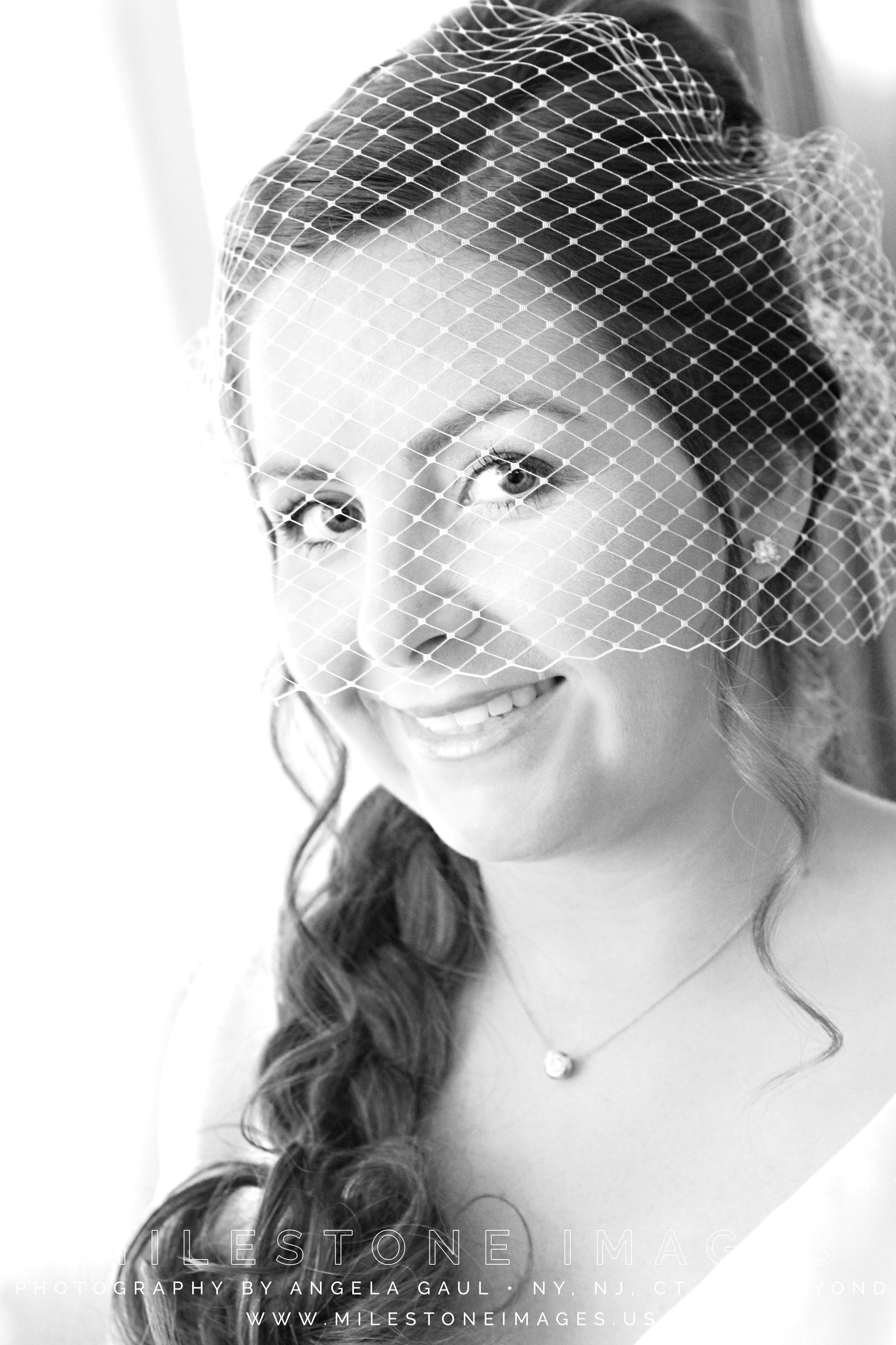 Katniss braid with birdcage veil, offbeat wedding, Caucasian hair ...