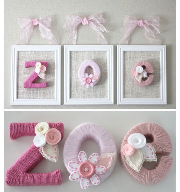 Bedroom Decor Letters 21 diy decorating ideas for girls bedrooms