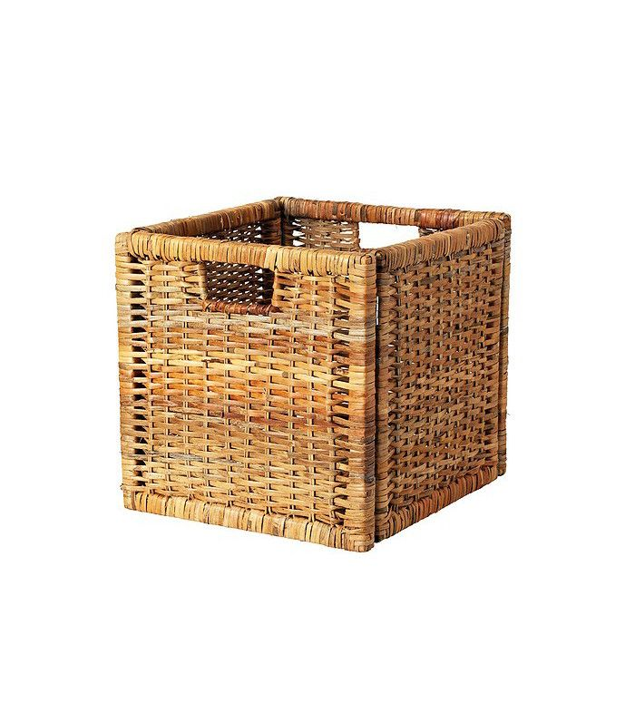 Branas Basket Rattan 12 X13 X12 With Images Ikea