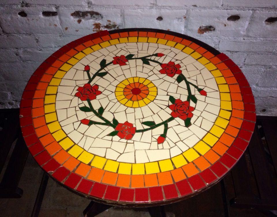 Table, mesa mosaic